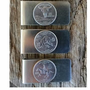 Your State Quarter Money Clip