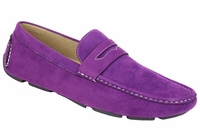 AC Purple Penny Moc Casual Driving Shoes 6516 IS