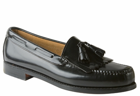 Bass Weejuns Layton Mens Black Kiltie Tassle Loafers LAYTONBLK   - click to enlarge