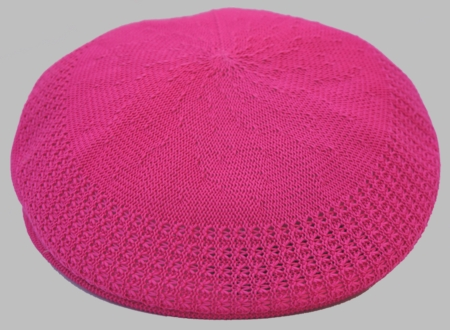 Bruno Men's Fuchsia Ivy Summer Mesh Cap - click to enlarge