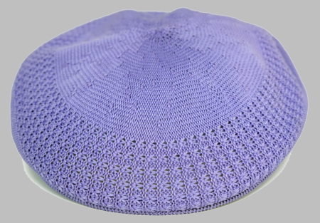 Bruno Men's Lavender Ivy Summer Mesh Cap  - click to enlarge