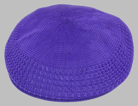 Bruno Men's Purple Ivy Summer Mesh Cap  - click to enlarge