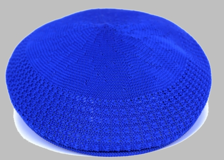Bruno Men's Royal Blue Ivy Summer Mesh Cap  - click to enlarge