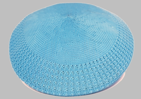 Bruno Men's Sky Blue  Ivy Summer Mesh Cap  - click to enlarge