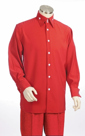 Canto Big and Tall 3 Button Collar Walking Suits 864 - click to enlarge