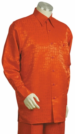 Canto Mens Snake Print Long Sleeve Walking Suit 850 - click to enlarge