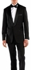 Ferrecci Slim Fit Tuxedo for Men Black Shawl Collar Falls