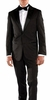 Ferrecci Slim Fit Tuxedos for Men Black Peak Lapel Crisp