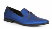 Giorgio Brutini Mens Blue Pearl Slipper Loafer Tassel 179283-2