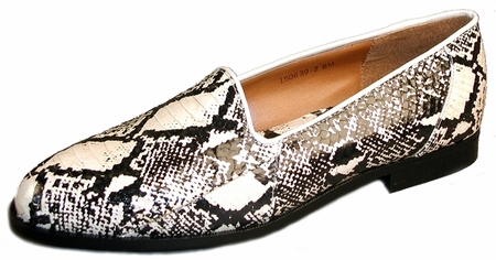 Giorgio Brutini Mens Natural Snakeskin Loafers  150639-2 - click to enlarge