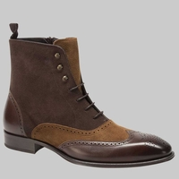Mezlan Boots Mens Brown Tan Wingtip Cerezo