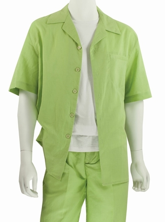 Jazz Sage 100% Linen Walking Suits RMSO - click to enlarge