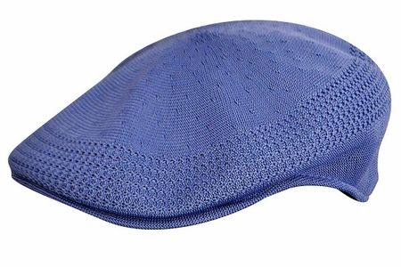 Kangol Caps 504 Mens Azul Blue Ventair Hats - click to enlarge