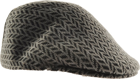 Kangol Hats Mens Gray Herringbone 100% Wool  507 Hat