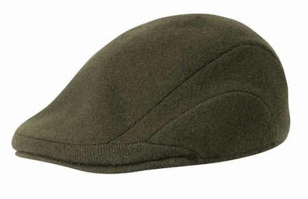 Kangol Hats Mens Loden Green 100% Wool Flannel 507 - click to enlarge