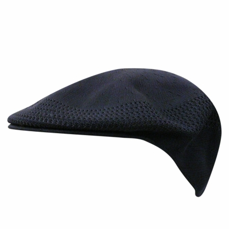 Kangol Hats Mens Solid Black Ventair 504 Cap - click to enlarge