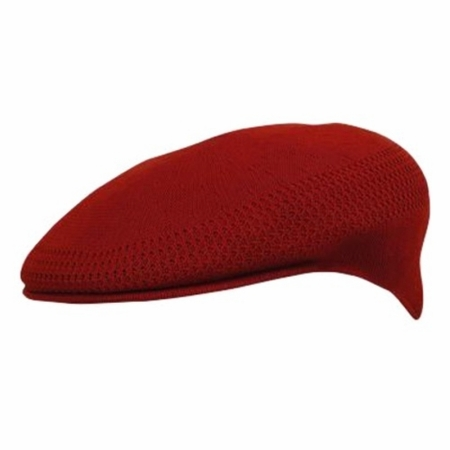 Kangol Mens Scarlet Red Ventair 504 Hats - click to enlarge