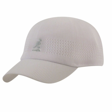 Kangol Mens White Tropic Ventair Spacecap  - click to enlarge