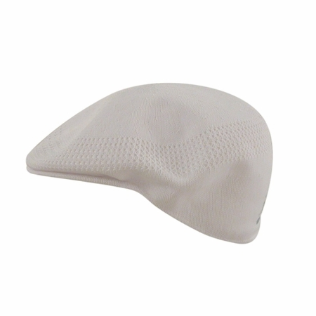Kangol Mens Ventair 504 White Hat - click to enlarge