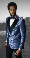 Men's Stylish Slim Fit Fashion Suit Royal Entertainer Tux Statement Bellagio-4