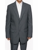 Mens Cheap Gray Suit on Sale Discount N2PP
