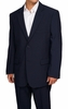 Mens Cheap Navy Blue Suit Discounted on Sale N2PP
