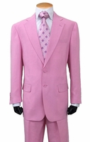 Mens Regular Pink Suit 2 Button Single Breasted Fortini 702P
