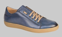 Mezlan Casual Sport Shoes Mens Blue Calfskin Lace Up Masi 6458