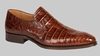 Mezlan Loafers Men's Brandy Crocodile Skin Jonas