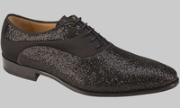 Mezlan Shoes Mens Black Sparkle Evening Style Honore