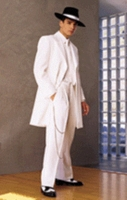 Mens Cream Zoot Suit 1940s Style Tuxedo Fortino T903V Size 40 Reg Final Sale