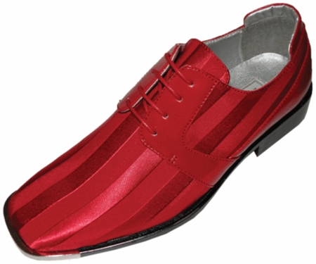 Red Dress Shoes for Men by Viotti Italian Style Tuxedo Shoes SS17 htm - click to enlarge