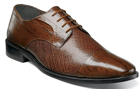 Stacy Adams Unique Mustard Eel Style Designer Dress Shoes Gatto 25051-701