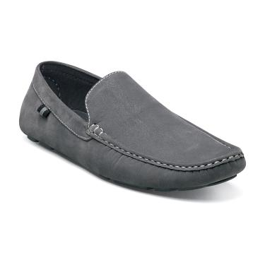 Stacy Adams Grey Suede Moc Driving Shoes Vigo 24869-020 IS