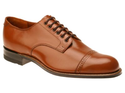 Stacy Adams Madison Mens Oak Brown 1920s Style Dress Shoes 00012-40