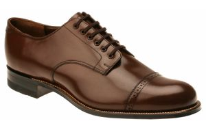Stacy Adams Madison Shoes Mens Brown Smooth Cap Toe 00012-02