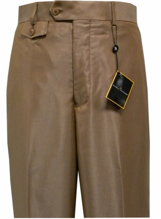 Stacy Adams Mens Rust Nailshead Wide Leg Dress Pants 9933 - click to enlarge