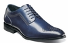 Stacy Adams Shoes Men's Blue Diamond Pattern Toe Oxford 25101-403