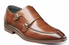 Stacy Adams Shoes Mens Cognac Double Monk Strap 25188-221