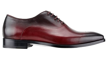 Steven Land Bordeaux Burgundy Cap Toe Faded Style Dress Shoe SL0017