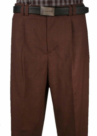Veronesi Mens Fine Wool  Plum Wide Leg Dress Pants  666109 - click to enlarge
