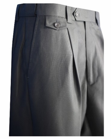 Blu Martini Mens Pleated Nails Head Dress Pants Slacks 5469 Paton - click to enlarge