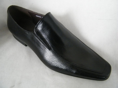 Zota High Fashion Loafer Shoes Black G6858 - click to enlarge