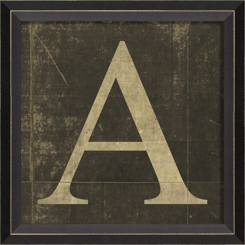 alphabet letter a framed wall art by spicher and company With letters framed letter art
