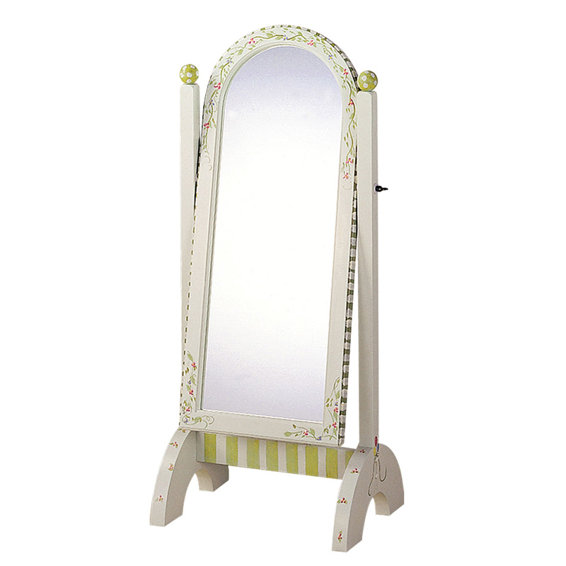 Alphabet standing mirror for Stand up mirror