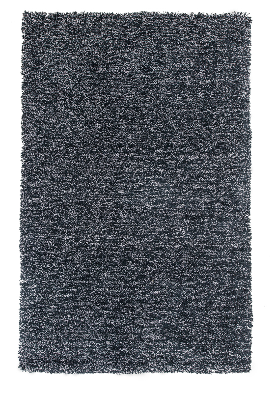 Bliss Shag Rug In Black Heather By Kas Rugs