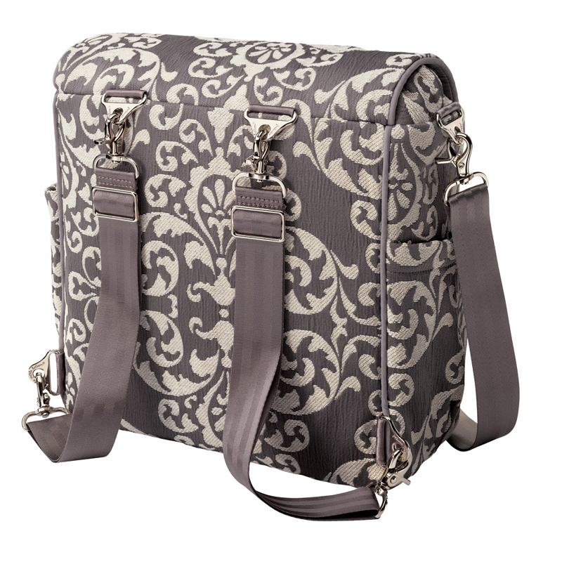 boxy backpack diaper bag earl grey by petunia pickle bottom. Black Bedroom Furniture Sets. Home Design Ideas