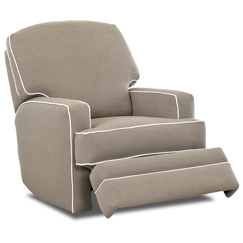 Bridger Swivel Glide Recliner By Nursery Classics