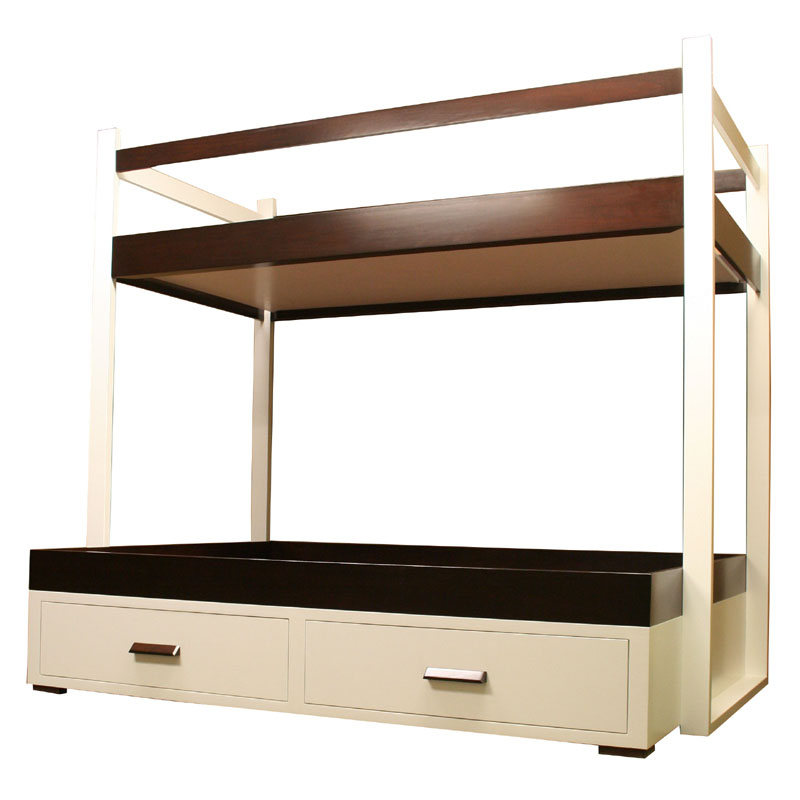Contempo Twin Over Full Bunk Bed By Country Cottage