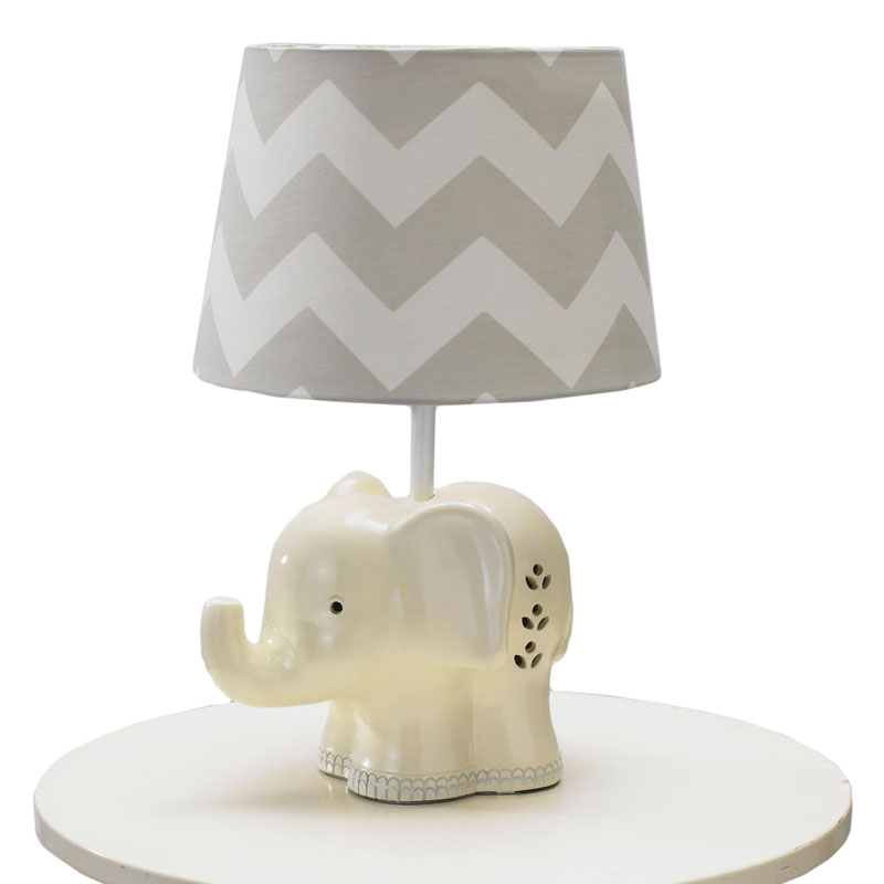 Wall Lamps Baby Room : Elephant Lamp Base by Lolli Living - RosenberryRooms.com